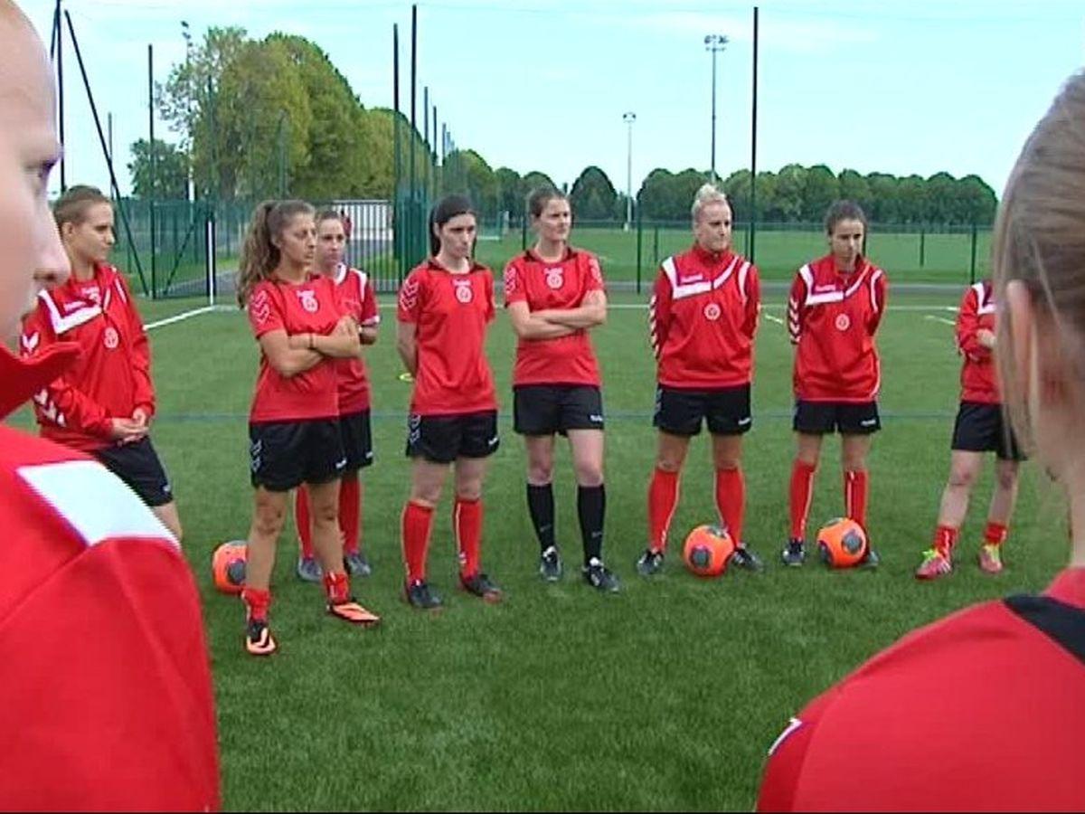 Portrait L Equipe De Football Feminin Du Stade De Reims