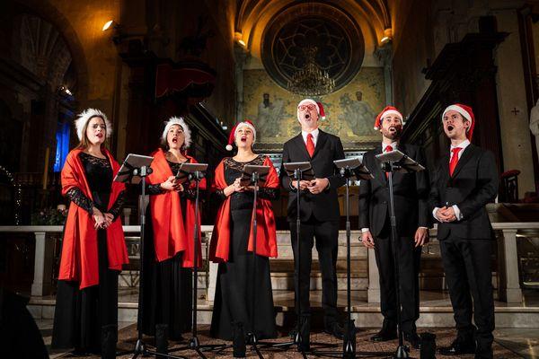 Les Voix Animées A Cappella Ensemble en concert ce dimanche 20 décembre.