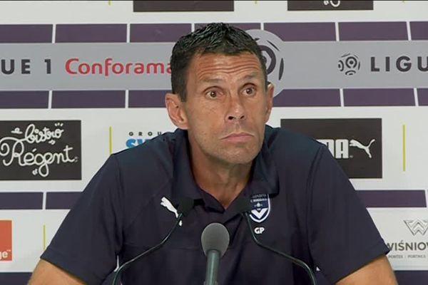 Gustavo Poyet furieux en conférence de presse d'après-match