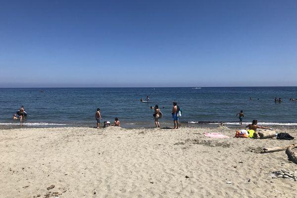 La plage de Moriani Plage, menacée d'érosion