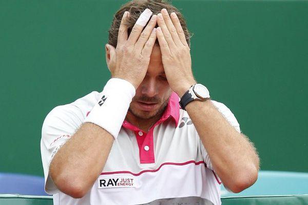 Stan Wawrinka, tenant du titre du Masters 1000 de Monte-Carlo, a été éliminé dès les huitièmes de finale de l'édition 2015.