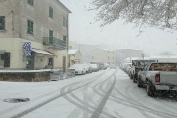 A Murato en Haute Corse, le 17 janvier