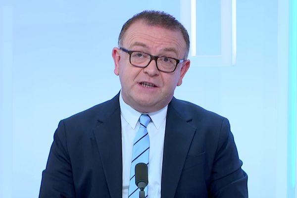Luc Binsinger est le chef de file de l'Union du Centre et la Droite aux élections départementales.