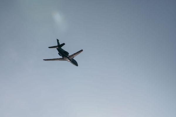 Avion de la Marine nationale en opération de surveillance