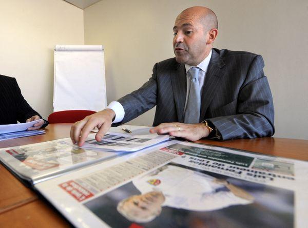 Michel Moulin a créé le quotidien sportif 10 Sport