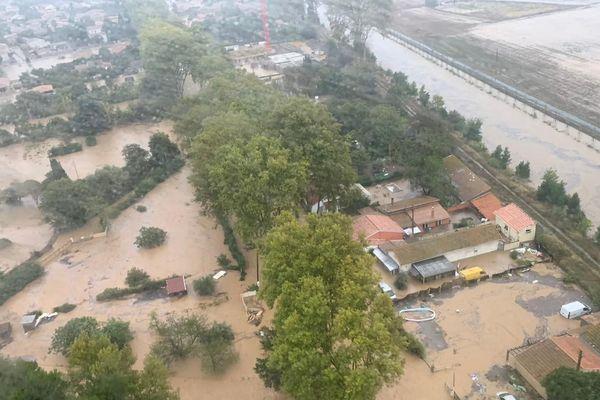 Les inondations d'octobre 2019 dans le Bitérrois