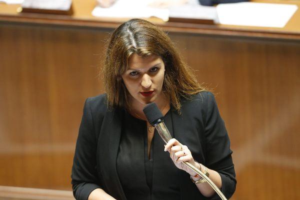 Marlène Schiappa, secrétaire d'Etat à l'égalité homme-femme pourrait être candidate à la tête de la République en marche