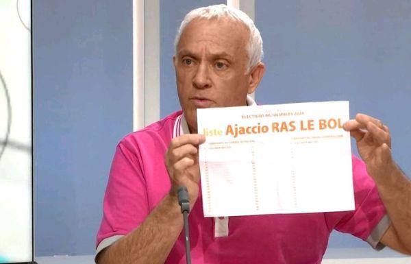 Michel Ciccada, tête de liste Ajaccio-Ras-Le-Bol