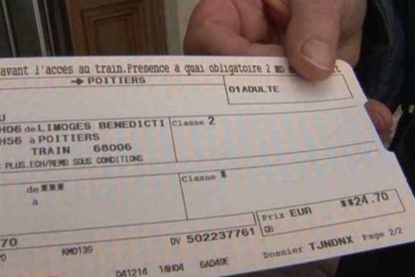 Mercredi prochain ce billet coûtera 60 centimes de plus.