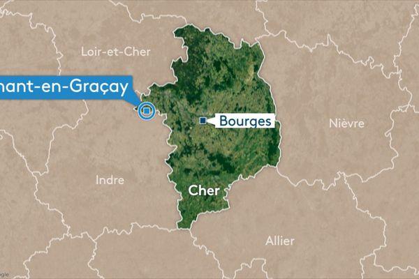 Un camion a percuté un véhicule de la Dirco sur l'A20, près de Nohant-en-Graçay