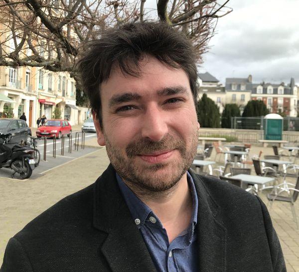 Léo Tyburce accorde également à la sécurité des cyclistes une part importante de sa politique pour le vélo. Reims 13/03/2020