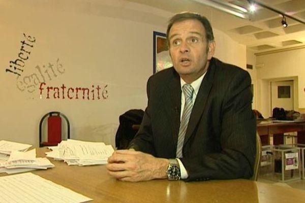 Cyril Meunier, maire de lattes