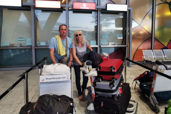Claude et Cathy, 2 Azuréens bloqués aux Philippines