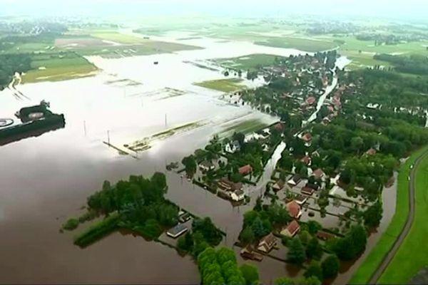 Inondations dans le Loiret