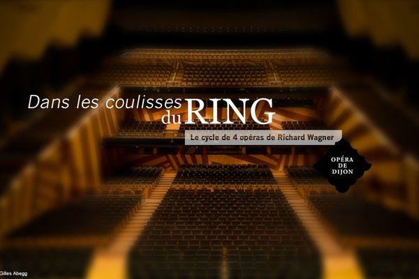 Le Ring de Wagner joué dans son intégralité à l'opéra de Dijon en octobre 2013. Découvrez dans ce webdoc les artistes, créateurs, techniciens qui ont contribué à cette œuvre commune: douze heures de spectacle scénique et musical !