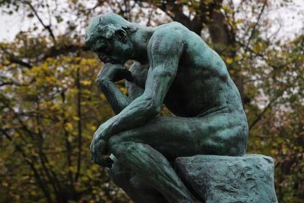 Le «Penseur», sculpture d'Auguste Rodin (1840-1917) au musée Rodin à Paris. AFP/Joel Saget