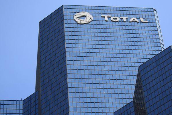 Siège de la société Total dans le quartier de La Défense à Paris.
