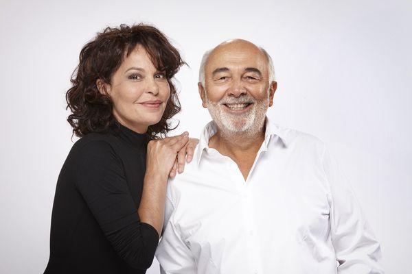 Isabelle Mergault et Gérard Jugnot