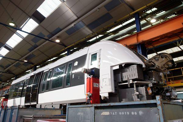 L'usine Bombardier à Crespin