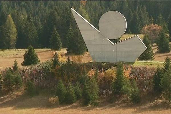 Le Plateau des Glières, en Haute-Savoie, est un lieu de mémoire de la Résistance.