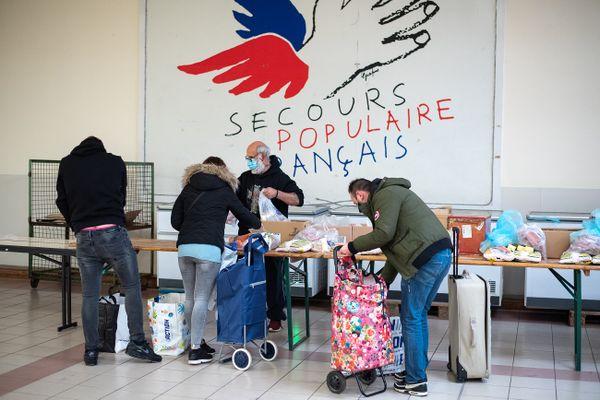 Les activités de distribution alimentaire - une priorité pour les associations - ont perduré malgré la crise sanitaire.