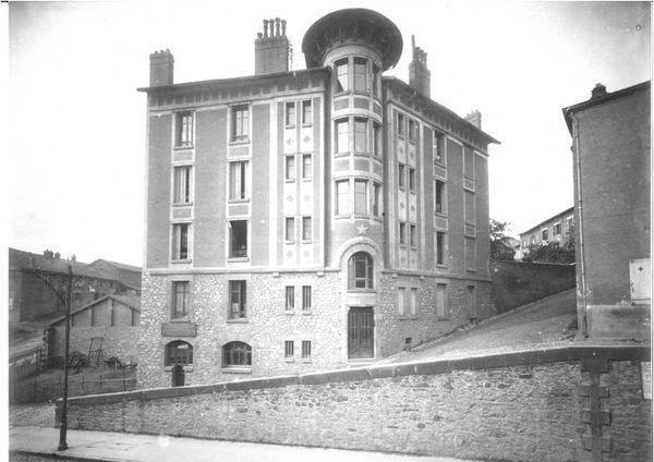 """L'immeuble """"L'Etoile"""" dans les années 1920"""