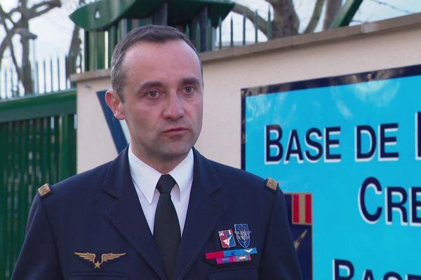 Bruno Cunat, commandant de la base aérienne de Creil au début de la crise du coronavirus, 3 mars 2020