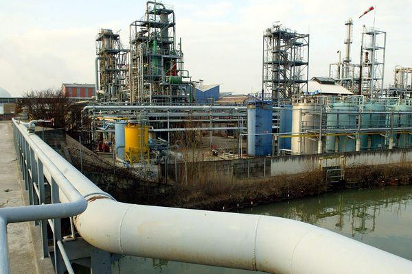 """L'usine Solvay, à Tavaux, fait partie des 29 sites classés Seveso """"seuil haut"""" en Bourgogne-France-Comté."""