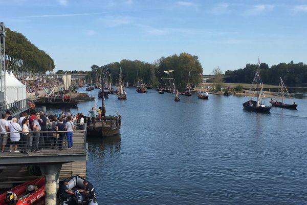 Le Festival de Loire, le plus grand rassemblement de la marine fluviale