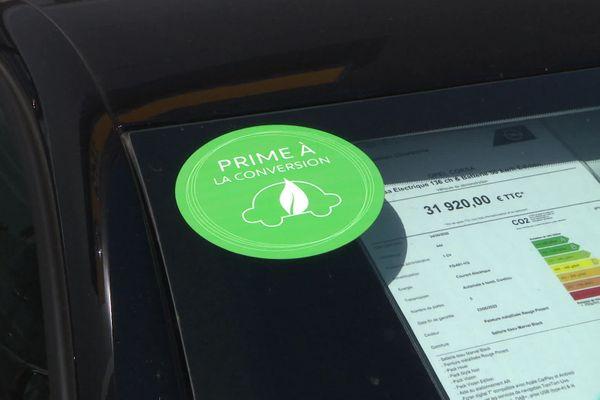La prime à la conversion est censée encourager les consommateurs à changer leur vieux véhicule pour un modèle moins polluant.