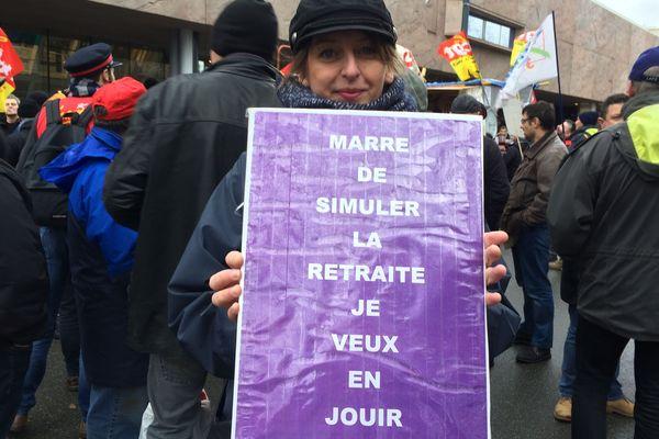 Manifestation jeudi 19 décembre à Rennes