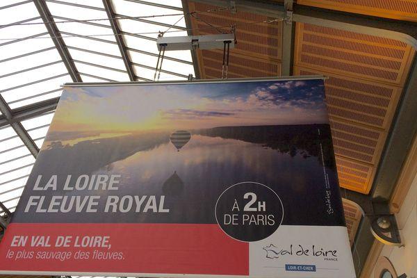 La Loire s'affiche en gare de Paris Saint-Lazare