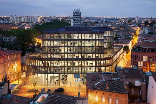 Le futur visage du siège social du Crédit Agricole de Toulouse