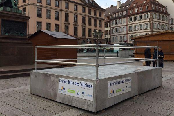 Place Gutenberg, Strasbourg, J moins 5