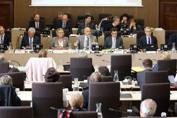 Session du Conseil départementale du Loir et Cher du 14 octobre 2019.
