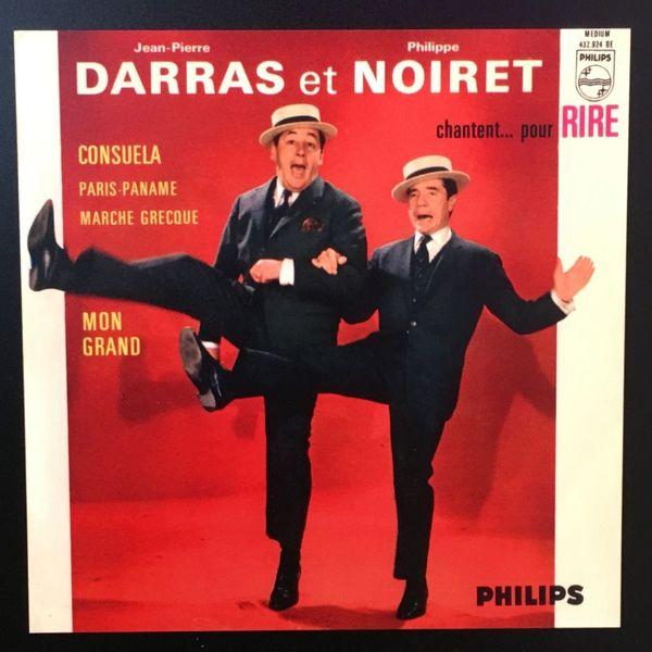Pochette du disque de Darras et Noiret