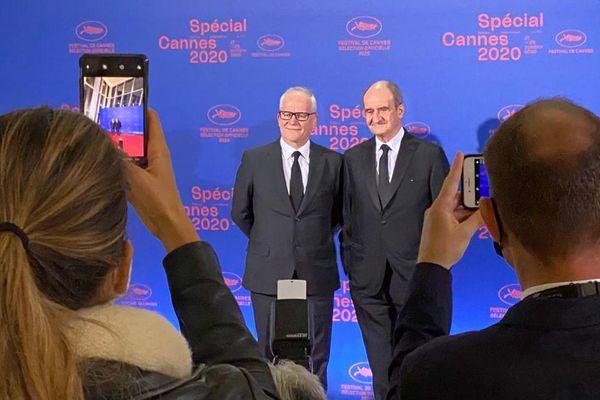 L'édition 2021 du festival de Cannes prévue en mai pourrait être décalée si la situation l'exige
