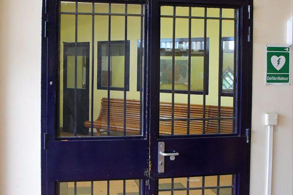Parloir de la prison de Perpignan