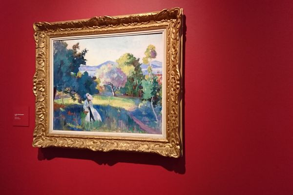 Le Pré, Villa Demière (1905) est un des tableaux de Henri Manguin qui a choqué les critiques pour ses couleurs vives.