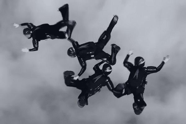 Trois médailles décrochées à Vichy par des parachutistes niçois.