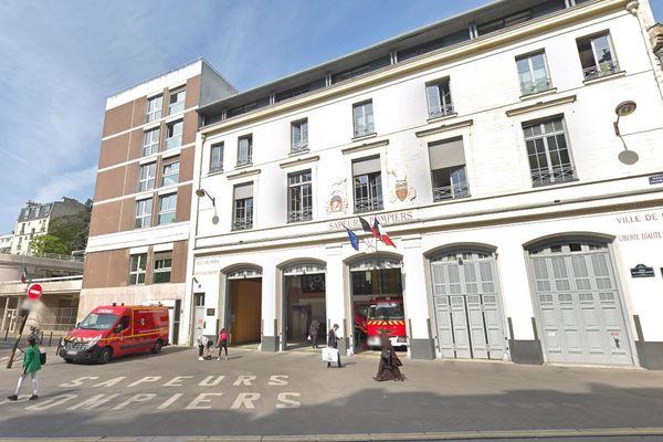 La caserne Plaisance, dans le 14e arrondissement de Paris (illustration).