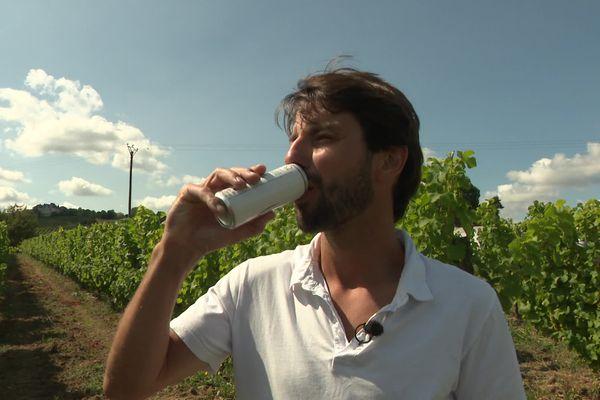 Il fallait oser ! Dans un terroir de tradition, lancer la canette de vin métallique c'est prendre des risques. Mais qui ne tente rien...
