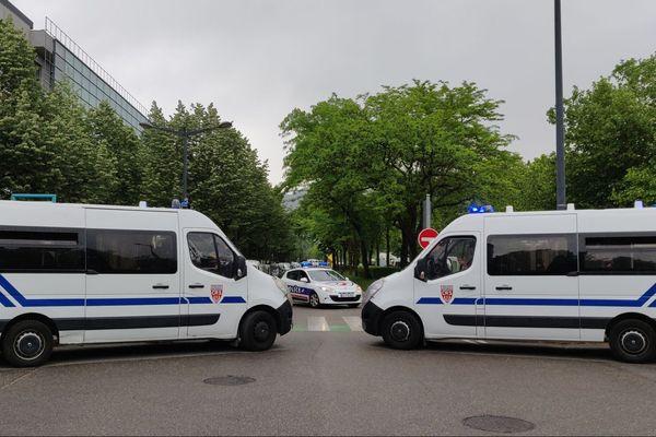 Bouclage de l'avenue Marie Reynoard à Grenoble