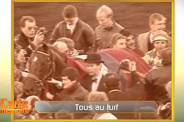 Prix d'Amérique du 26 janvier 1986 : Victoire de Jean-René Gougeon et Ourasi