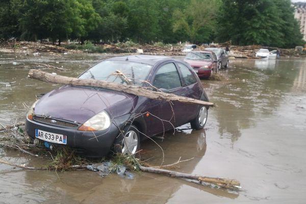 A Lourdes, les dégâts après l'inondation