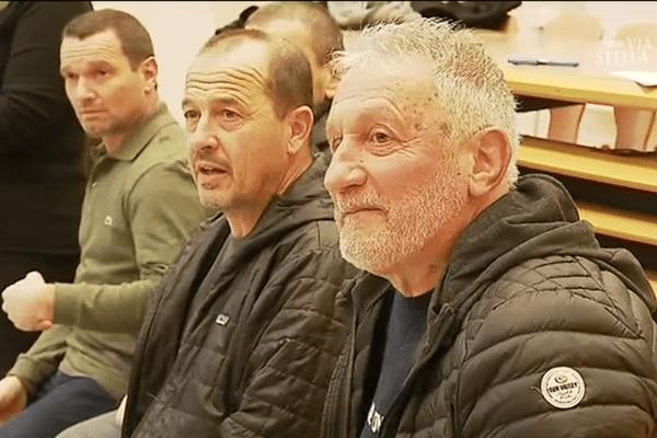 Corse - Le retour de l'ex-chef du FLNC Charles Pieri suer le devant de la scène politique, ici le 27 janvier à Corte