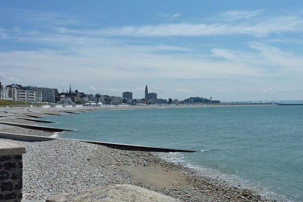 La plage du Havre vue de Sainte-Adresse (Archives)