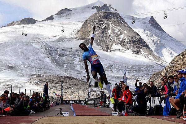 L'athlète français Kafétien Gomis