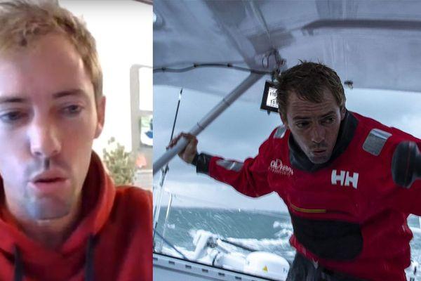 Thomas Ruyant, skipper dunkerquois, vainqueur de la route du rhum, confiné à Lorient témoigne