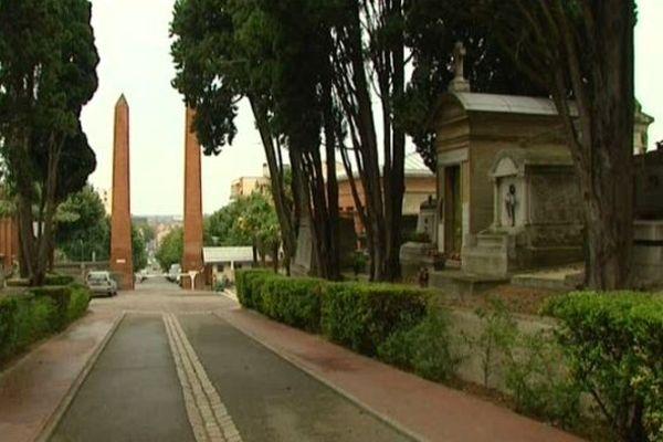 Le cimetière de Terre-Cabade, à Toulouse. Archives.